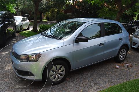 Volkswagen Gol Trend 5P Pack I usado (2015) color Azul precio $700.000