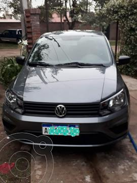 Volkswagen Gol Trend 5P Trendline usado (2020) color Gris Platino precio $1.400.000