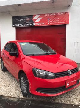 Volkswagen Gol Trend 5P Pack I usado (2013) color Rojo Flash financiado en cuotas(anticipo $600.000)