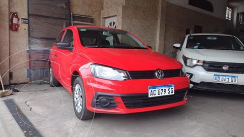 Volkswagen Gol Trend 3P Trendline usado (2017) color Rojo Flash precio $1.060.000