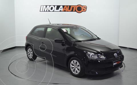 Volkswagen Gol Trend 3P Pack II usado (2014) color Negro precio $1.180.000