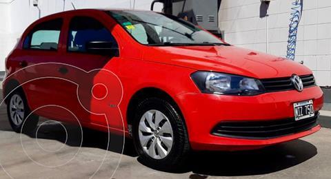 Volkswagen Gol Trend 5P Pack II usado (2013) color Rojo precio $820.000