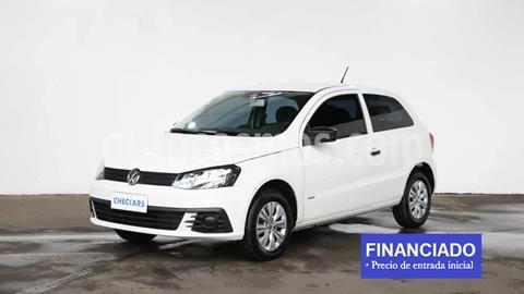 foto Volkswagen Gol Trend 3P Trendline usado (2017) color Blanco Candy precio $827.000