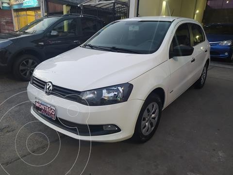 Volkswagen Gol Trend 5P Pack I usado (2016) color Blanco Cristal precio $1.170.000