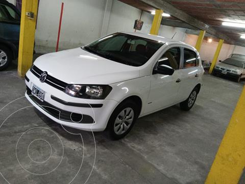 Volkswagen Gol Trend 5P Pack I usado (2015) color Blanco Cristal precio $1.250.000