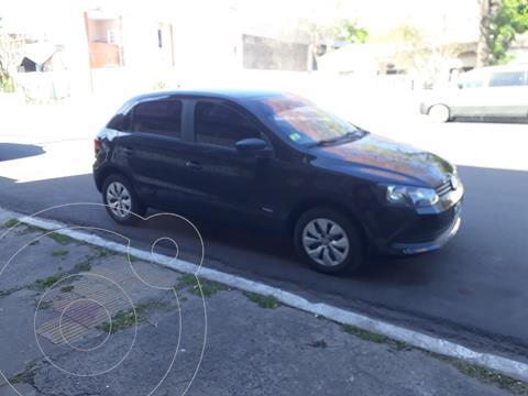 Volkswagen Gol Trend 3P Pack I usado (2015) color Negro precio $1.100.000