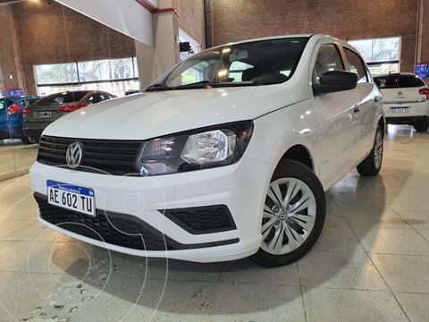 Volkswagen Gol Trend 5P Trendline usado (2021) color Blanco Cristal financiado en cuotas(anticipo $1.050.000)
