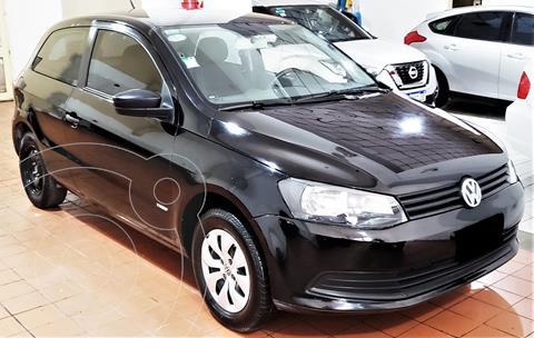 Volkswagen Gol Trend 3P Pack I usado (2015) color Negro precio $895.000
