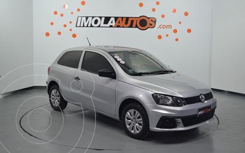 Volkswagen Gol Trend 3P Trendline usado (2017) color Plata precio $1.550.000