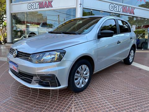 Volkswagen Gol Trend 5P Trendline usado (2016) color Gris Cuarzo financiado en cuotas(anticipo $590.000)