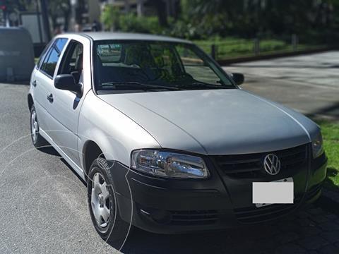 Volkswagen Gol 5P 1.6 Power usado (2008) color Gris Plata  precio $392.000
