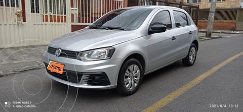 Volkswagen Gol Trendline usado (2019) color Gris precio $37.000.000