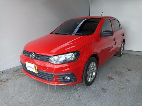 Volkswagen Gol Comfortline  usado (2018) color Rojo Flash precio $38.500.000