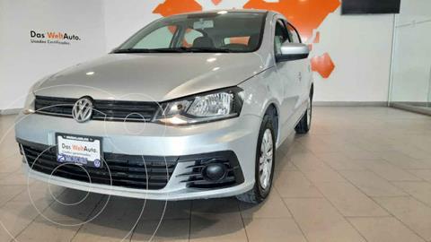 Volkswagen Gol Trendline usado (2019) color Plata precio $185,000