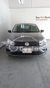 Volkswagen Gol HB TRENDLINE L4 TM usado (2020) color Gris Platino precio $195,000