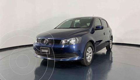 Volkswagen Gol CL Seguridad usado (2015) color Azul precio $122,999