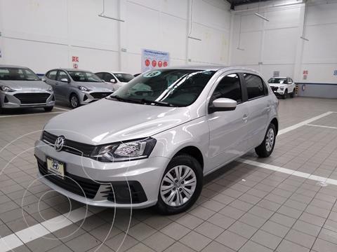 Volkswagen Gol Trendline usado (2018) color Plata Dorado precio $185,000