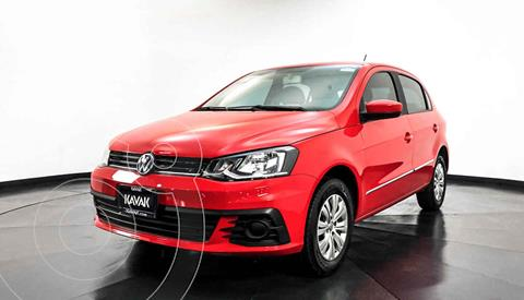Volkswagen Gol Trendline usado (2017) color Rojo precio $144,999