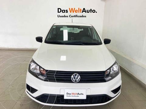 Volkswagen Gol Trendline usado (2020) color Blanco precio $197,063