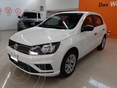 Volkswagen Gol HB TRENDLINE L4 TM usado (2020) color Blanco precio $210,000
