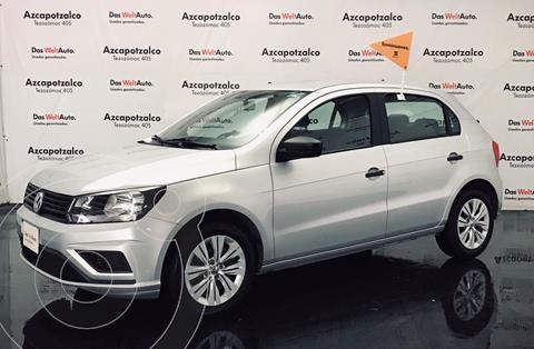 Volkswagen Gol Trendline (2019.5) usado (2020) color Plata financiado en mensualidades(enganche $43,000 mensualidades desde $5,162)