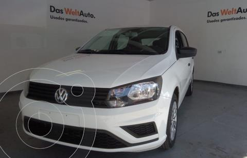 Volkswagen Gol TRENDLINE 1.6L STD usado (2019) color Blanco precio $185,000