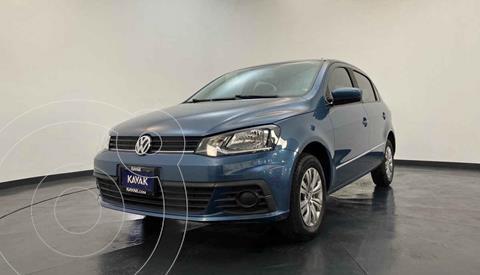Volkswagen Gol Trendline usado (2018) color Azul precio $154,999