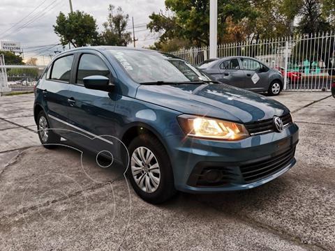 Volkswagen Gol Trendline usado (2018) color Azul Acero precio $160,000