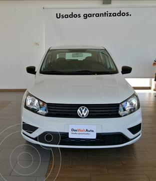 Volkswagen Gol HB TRENDLINE L4 TM usado (2020) color Blanco precio $205,000