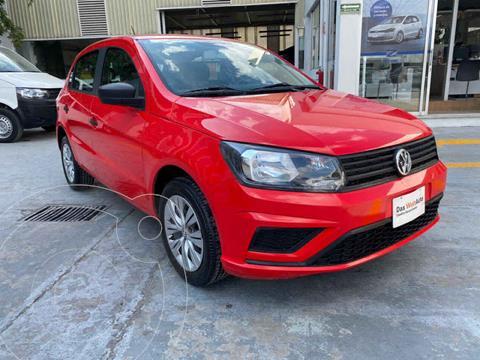 Volkswagen Gol Trendline usado (2019) color Rojo precio $188,000