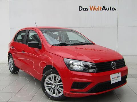 Volkswagen Gol Trendline usado (2020) color Rojo Flash precio $218,000
