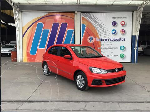 Volkswagen Gol Trendline usado (2018) color Rojo precio $100,000