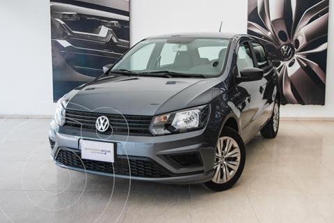 Volkswagen Gol HB TRENDLINE L4 TM usado (2020) color Gris Platino precio $196,000