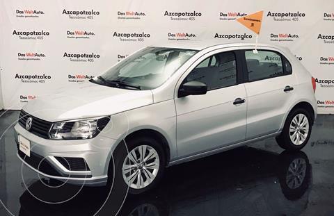 Volkswagen Gol Trendline (2019.5) usado (2020) color Plata financiado en mensualidades(enganche $43,000 mensualidades desde $4,672)