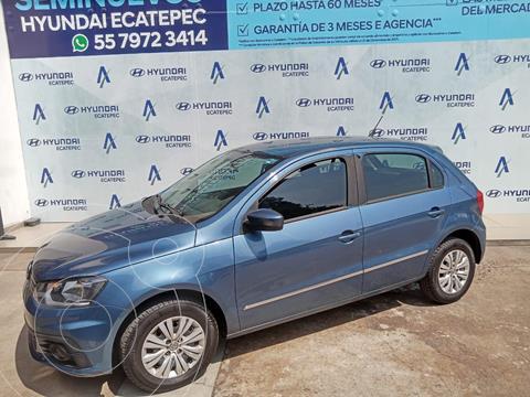 Volkswagen Gol Trendline usado (2018) color Azul precio $169,500
