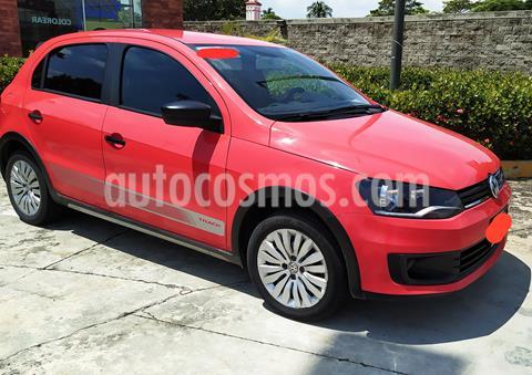 Volkswagen Gol Track usado (2016) color Rojo precio $115,000