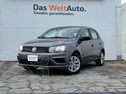 Volkswagen Gol Trendline usado (2020) color Gris Oscuro precio $195,000