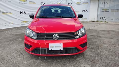 Volkswagen Gol Trendline usado (2020) color Rojo precio $215,000