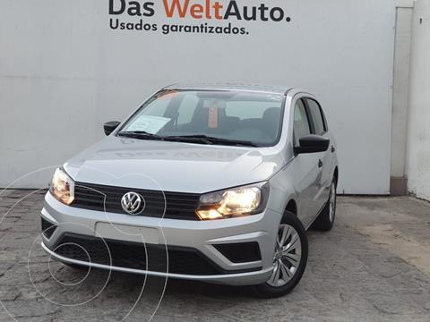 Volkswagen Gol Trendline usado (2020) color Plata Dorado precio $193,000