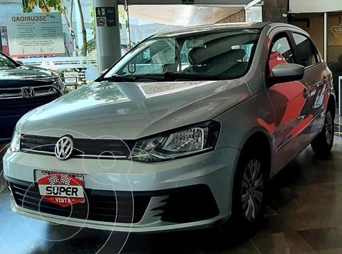 Volkswagen Gol Trendline usado (2017) color Plata Dorado precio $159,000