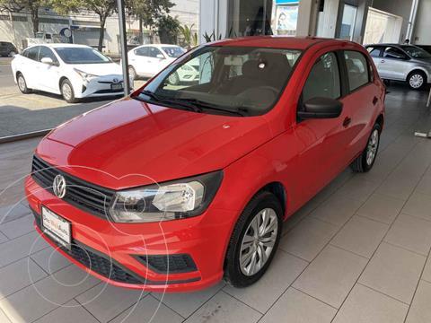 Volkswagen Gol Trendline usado (2020) color Rojo precio $195,000