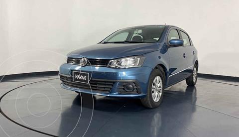 Volkswagen Gol Trendline usado (2018) color Azul precio $159,999