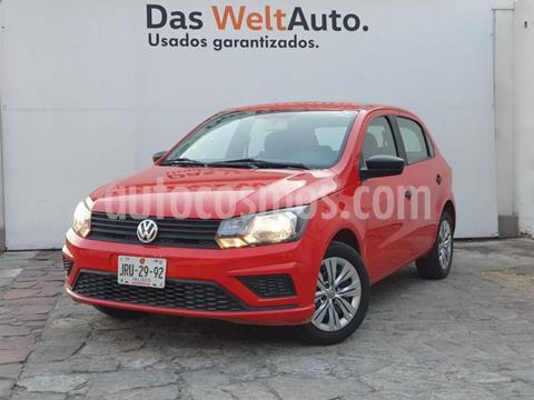 Volkswagen Gol Trendline usado (2020) color Rojo precio $190,000