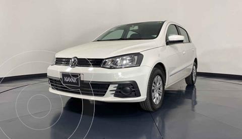 Volkswagen Gol Trendline usado (2018) color Blanco precio $162,999