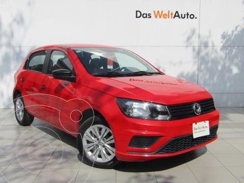 Volkswagen Gol Trendline usado (2020) color Rojo Flash precio $189,000