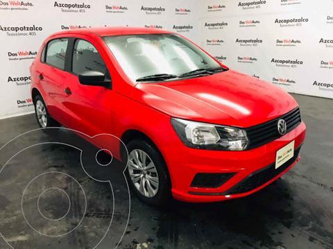 Volkswagen Gol Trendline usado (2020) color Rojo precio $189,990