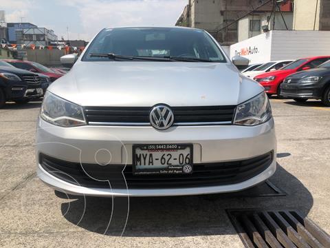 Volkswagen Gol Trendline usado (2016) color Plata financiado en mensualidades(enganche $33,750 mensualidades desde $3,859)