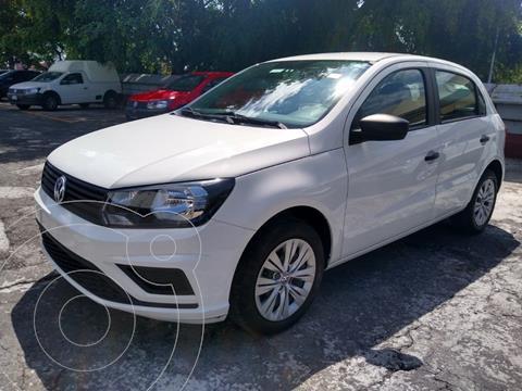 Volkswagen Gol HB TRENDLINE L4 TM usado (2020) color Blanco Candy precio $209,500