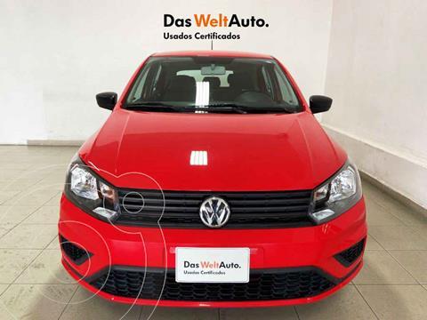 Volkswagen Gol Trendline usado (2020) color Rojo precio $214,194