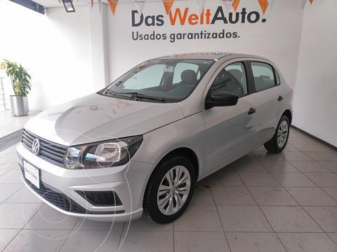 Volkswagen Gol Trendline usado (2020) color Plata precio $199,000